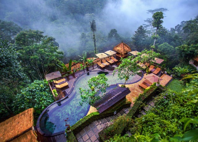 Bali rainforest retreat with staggering views | Save up to 70% on ...