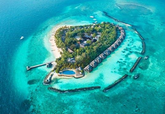5 Maldives Island Escape With Water Villa Optional All