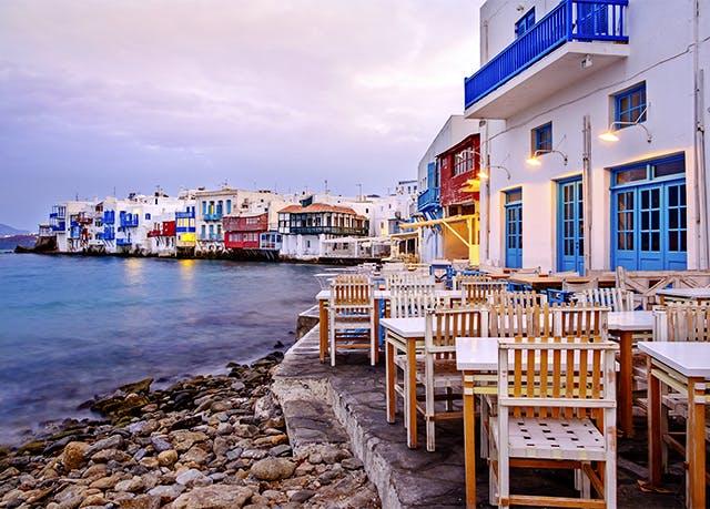 Vacanza di mare sotto al sole di Mykonos | Soggiorni ...